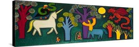 El Bosque Magico De Lucas, 2009-Cristina Rodriguez-Stretched Canvas Print
