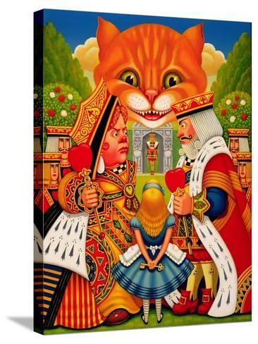 The King and Queen of Hearts, 2010-Frances Broomfield-Stretched Canvas Print