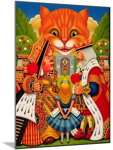 The King and Queen of Hearts, 2010-Frances Broomfield-Mounted Giclee Print