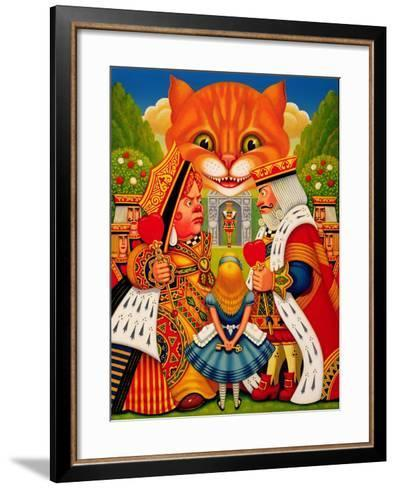 The King and Queen of Hearts, 2010-Frances Broomfield-Framed Art Print