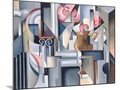 Still Life with Brown Jug-Catherine Abel-Mounted Giclee Print