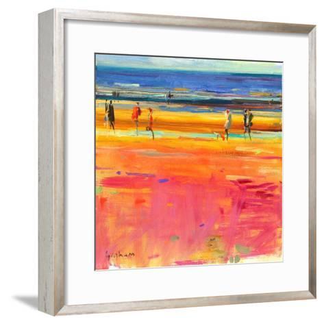 Boulevard De La Plage, 2011-Peter Graham-Framed Art Print