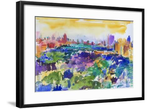 Central Park, New York, 2011-Peter Graham-Framed Art Print