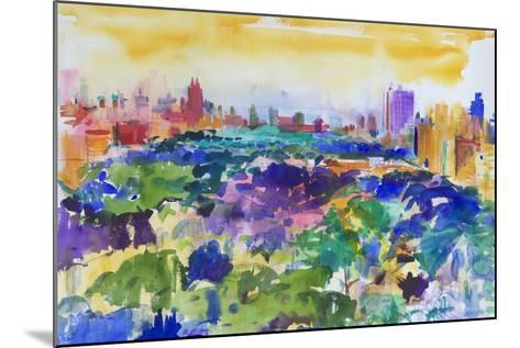 Central Park, New York, 2011-Peter Graham-Mounted Giclee Print