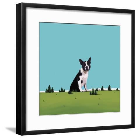 Boston Terrier, 2008-Marjorie Weiss-Framed Art Print