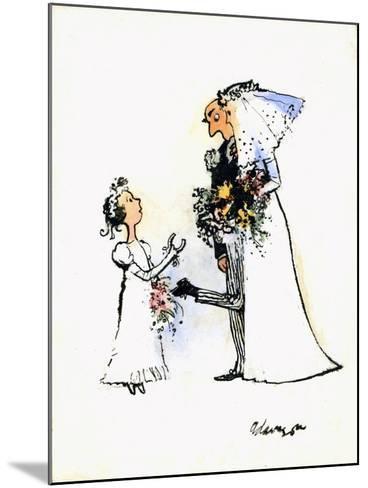 Wedding Horse-Shoe Heel-George Adamson-Mounted Giclee Print
