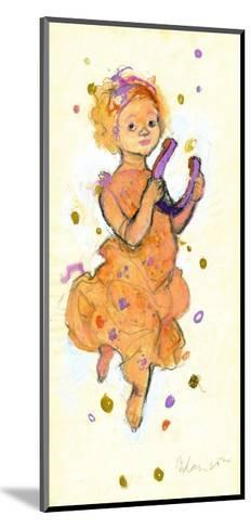 Girl Bringing Luck and Success-George Adamson-Mounted Giclee Print