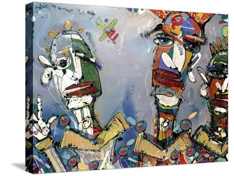 Kraftwork, 2006-Anthony Breslin-Stretched Canvas Print