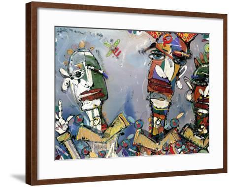 Kraftwork, 2006-Anthony Breslin-Framed Art Print