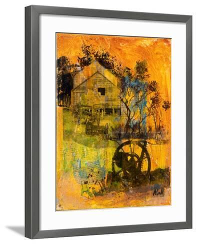 Shearing Shed-Margaret Coxall-Framed Art Print