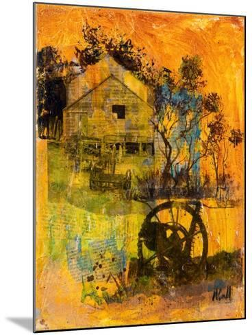 Shearing Shed-Margaret Coxall-Mounted Giclee Print