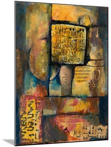 Ancient Scripts-Margaret Coxall-Mounted Giclee Print