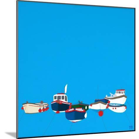 Moorings-Tom Holland-Mounted Giclee Print