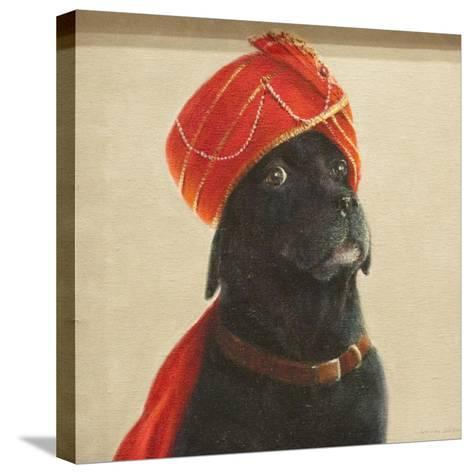 Reluctant Maharaja, 2010-Lincoln Seligman-Stretched Canvas Print