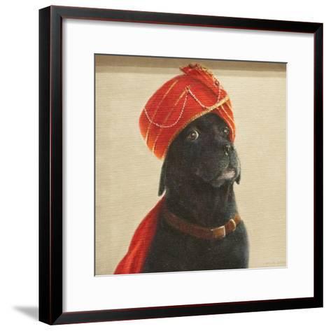 Reluctant Maharaja, 2010-Lincoln Seligman-Framed Art Print