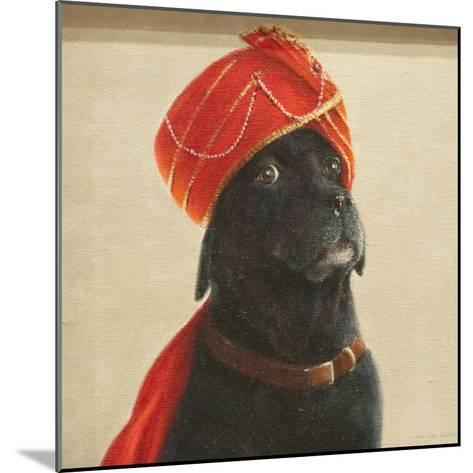 Reluctant Maharaja, 2010-Lincoln Seligman-Mounted Giclee Print
