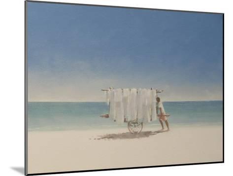 Cuba Beach Seller, 2010-Lincoln Seligman-Mounted Giclee Print