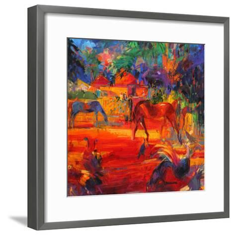 Tahiti Pastoral, 2011-Peter Graham-Framed Art Print