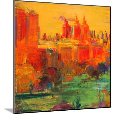 The Upper West Side, 2011-Peter Graham-Mounted Giclee Print