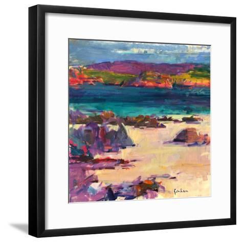 White Sands, Iona, 2011-Peter Graham-Framed Art Print