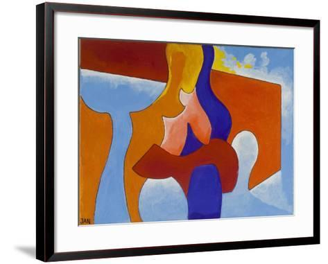 In Love with a Phantom, 2009-Jan Groneberg-Framed Art Print