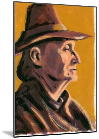 Edith Sitwell, 2008-Sara Hayward-Mounted Giclee Print