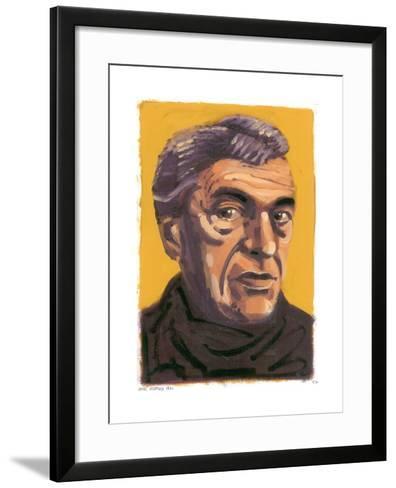 Paul Scofield, 2008-Sara Hayward-Framed Art Print