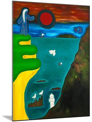 The Coast of England, 2010-Cristina Rodriguez-Mounted Giclee Print