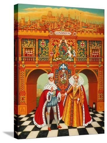 The Winter King and Queen, 2010-Frances Broomfield-Stretched Canvas Print