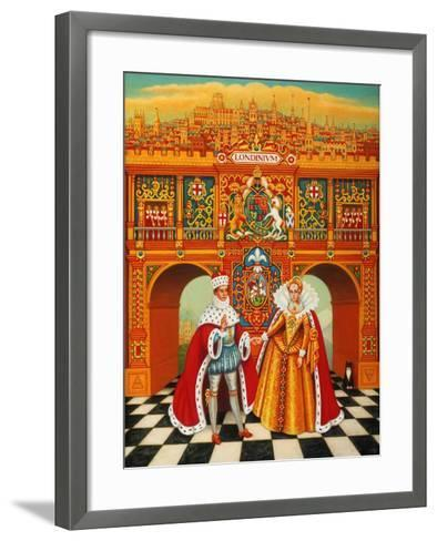 The Winter King and Queen, 2010-Frances Broomfield-Framed Art Print