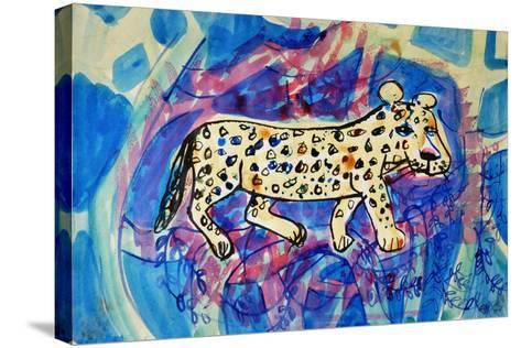 Leopard-Brenda Brin Booker-Stretched Canvas Print