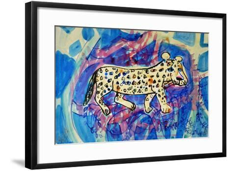 Leopard-Brenda Brin Booker-Framed Art Print