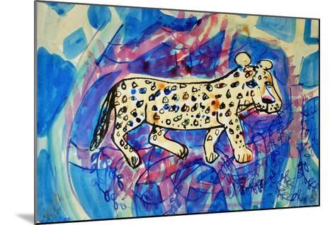 Leopard-Brenda Brin Booker-Mounted Giclee Print
