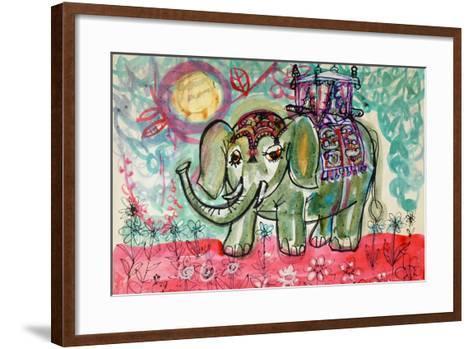 Elephant-Brenda Brin Booker-Framed Art Print