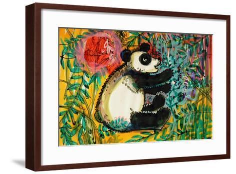Panda-Brenda Brin Booker-Framed Art Print