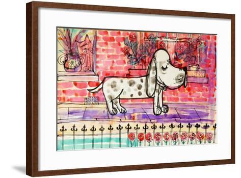 Dog-Brenda Brin Booker-Framed Art Print