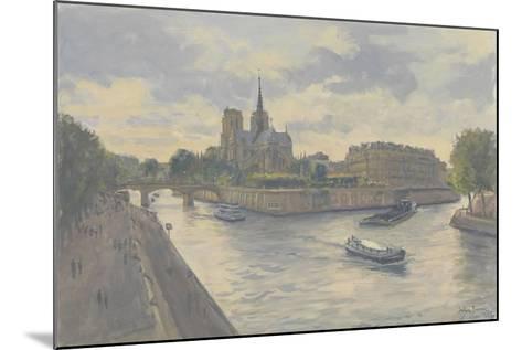 Ile De La Cite, 2010-Julian Barrow-Mounted Giclee Print