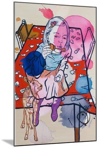 Deerie's Dream, 2009-Nora Soos-Mounted Giclee Print