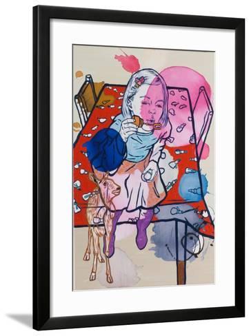 Deerie's Dream, 2009-Nora Soos-Framed Art Print