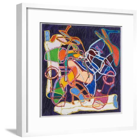 Etiquette, 2001-Nora Soos-Framed Art Print
