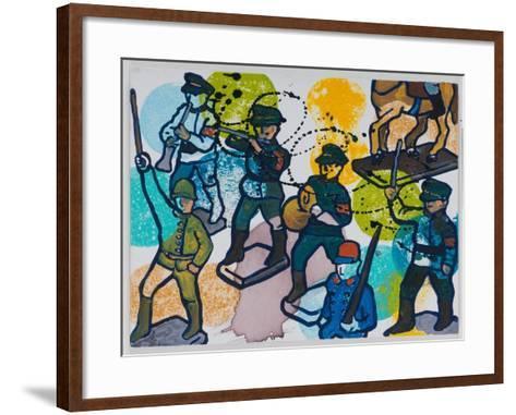 Steptaker III, 2008-Nora Soos-Framed Art Print