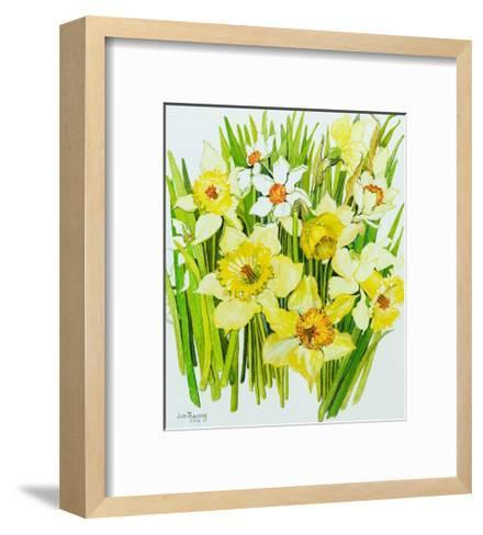 Daffodils and Narcissus-Joan Thewsey-Framed Art Print
