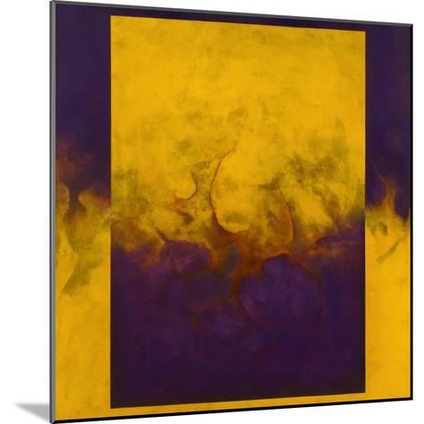 Damascene Moment: Blue and Gold, 2010-Mathew Clum-Mounted Giclee Print