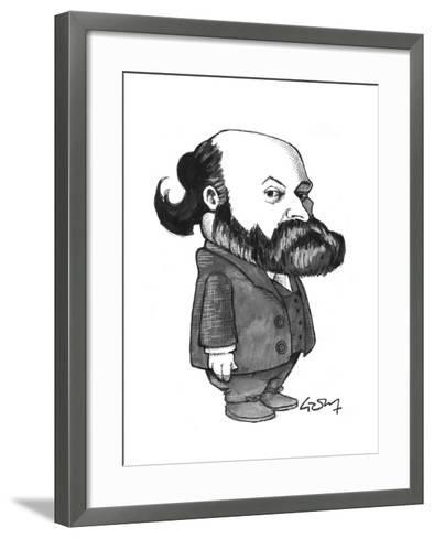 Cezanne-Gary Brown-Framed Art Print