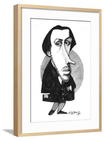 Degas-Gary Brown-Framed Art Print