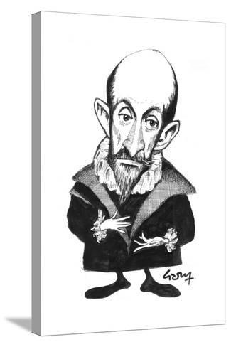 El Greco-Gary Brown-Stretched Canvas Print