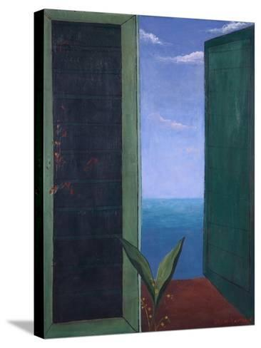 Window to Italy, 1978-Bettina Shaw-Lawrence-Stretched Canvas Print