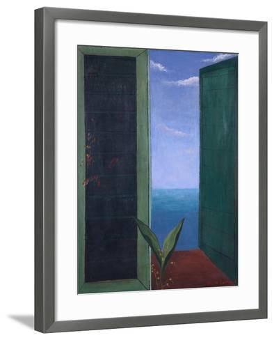 Window to Italy, 1978-Bettina Shaw-Lawrence-Framed Art Print