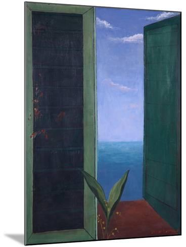 Window to Italy, 1978-Bettina Shaw-Lawrence-Mounted Giclee Print