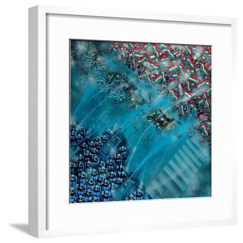 Baricade, 2006-Tamas Galambos-Framed Art Print